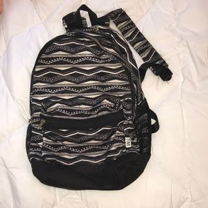 Black tribal PINK backpack